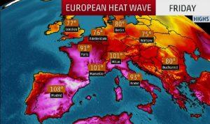 أوروبا ترزح تحت وطأة موجة حرّ.. وحرارة غير مسبوقة!