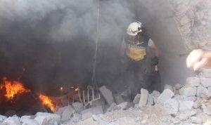 عودة البراميل المتفجرة الى إدلب