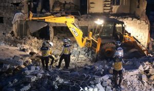 12 قتيلًا على الأقل بقصف عنيف على ادلب وحلب