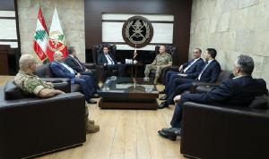 قائد الجيش عرض الأوضاع العامة مع نواب عكار