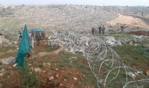 دورية اسرائيلية اجتازت السياج التقني في خراج ميس الجبل