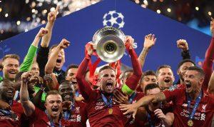ليفربول بطلًا لأوروبا للمرة السادسة بهدفي صلاح وأوريغي (صور وفيديو)