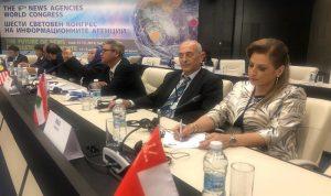 الوكالة الوطنية تشارك في المؤتمر الدولي السادس لوكالات الأنباء في صوفيا