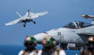 """""""دقائق الرعب"""".. مقاتلة روسية تعترض طائرة أميركية فوق المتوسط"""