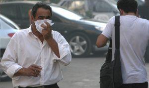 الهواء الملوث يغطي 76% من بيروت