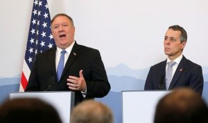 سويسرا: نعمل على الوساطة بين الولايات المتحدة وإيران