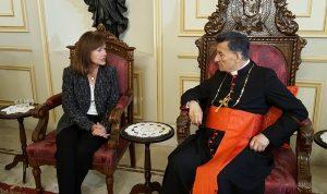 الراعي استقبل الخازن: للخروج بموازنة تخدم لبنان