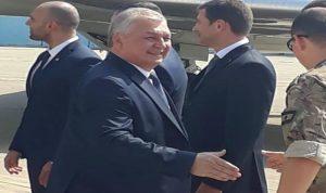 المفوض الروسي الخاص الى سوريا في بيروت