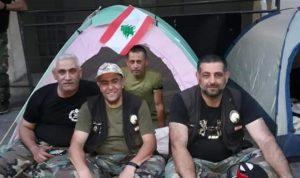 العسكريون المتقاعدون يُضربون عن الطعام
