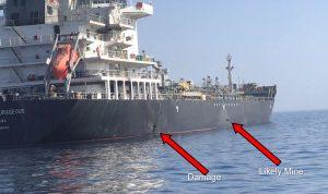 فيديو للجيش الأميركي يؤكد تورط إيران في بحر عمان