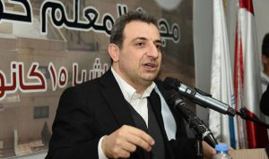 أبو فاعور يتبنّى حلول برنامج الشهيد بيار الجميل للصناعة