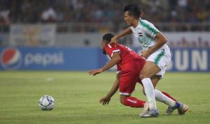 خسارة لبنان من العراق في إفتتاح بطولة غرب آسيا