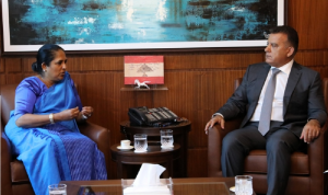 إبراهيم استقبل سفيرة سريلانكا مودّعة