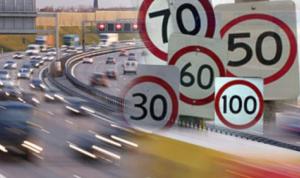 """لافتات السرعة على """"أشباه"""" الأوتوسترادات: سرعات قصوى أم أفخاخ؟"""