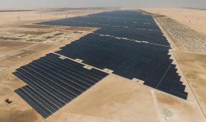 بالصور: افتتاح أكبر محطة طاقة شمسية بالعالم في أبو ظبي
