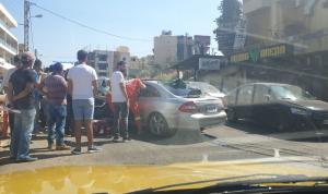إصابة إمرأة حامل بجروح بحادث سير في الكورة