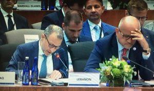 باسيل: النظام اللبناني القائم على حرية الأديان هو حاجة للانسانية