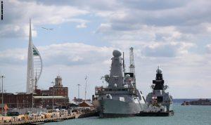 بريطانيا ترسل فرقاطة حربية جديدة إلى الخليج