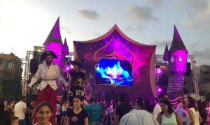 افتتاح مهرجانات DREAMLAND في جبيل