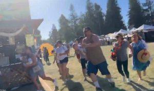 بالفيديو- هجوم في كاليفورنيا.. وترامب يحذر