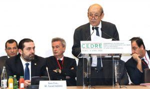 """قروض """"سيدر"""" تُفجّر الخلاف بين فرنسا والبنك الدولي"""