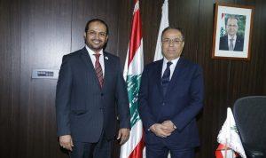 بطيش يدعو الامارات الى الاستثمار في القطاعات اللبنانية