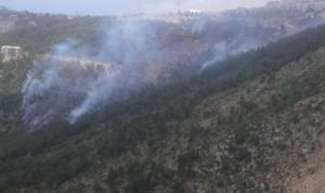 حريق كبير في بيت مسك
