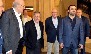 الحريري يلتقي رؤساء الحكومات السابقين