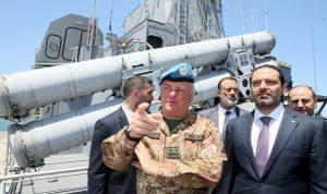 الحريري: أعمل جاهدا على بدء مفاوضات بشأن حدودنا البحرية
