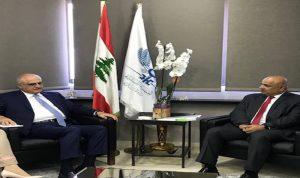 مدير دائرة المشرق في البنك الدولي ينوه بجهود حسن خليل