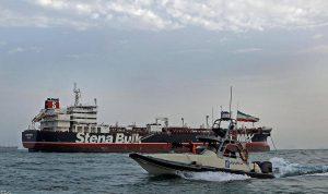 إيران: احتجاز ناقلة النفط البريطانية إجراء قانوني