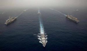 """إيران """"تراقب"""" السفن الأميركية"""