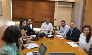 لقاء بين كركي ووفد منظمة العمل الدولية