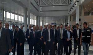جولة لفنيانوس وشقير وكيدانيان وبطيش في المطار