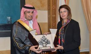 الحسن عرضت ورئيس جامعة نايف خطة تطوير برامج التدريب