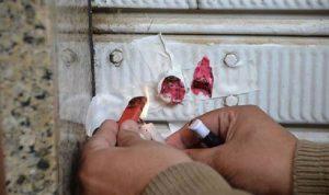 إقفال محل سوري مخالف في صيدا