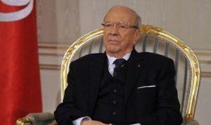 وفاة الرئيس التونسي في المستشفى العسكري