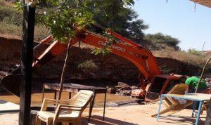 استئناف أعمال تنظيف مجرى نهر الوزاني