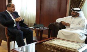 الشامسي من المجلس الاقتصادي: لمزيد من التعاون بين الامارات ولبنان