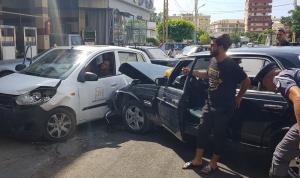 جريحان بحادث سير في صيدا