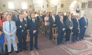 الرئيس عون وعقيلته شاركا المؤمنين بقداس الأحد في بيت الدين