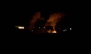 بالفيديو: غارات إسرائيلية تستهدف مواقع للجبهة الشعبية في السلسلة الشرقية