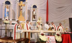 بشري استقبلت ذخائر القديس البابا مار يوحنا بولس الثاني