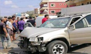 إصابة 3 أشخاص بحادث سير في برقايل