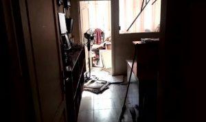"""بالفيديو: أضرار في مكتب العلاقات الإعلامية لـ""""الحزب"""" في الضاحية"""