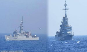 بتدريبات قتالية نوعية.. البحرية المصرية تستعد في المتوسط