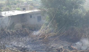 حرائق كبيرة في عكار