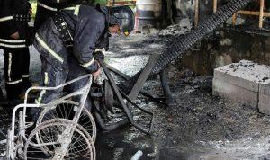 قتلى وجرحى بحريق فندق جنوب أوكرانيا