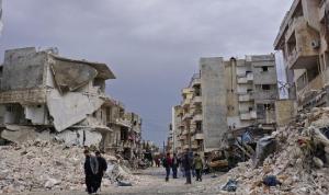 رتل عسكري تركي في إدلب.. وقصف روسي يحاول منعه