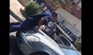 فيديو صادم من جونية: سائق يدهس شرطيًا عمدًا!